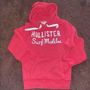 Men's red hoodie